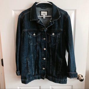 Forever 21 Denim Oversized Jacket